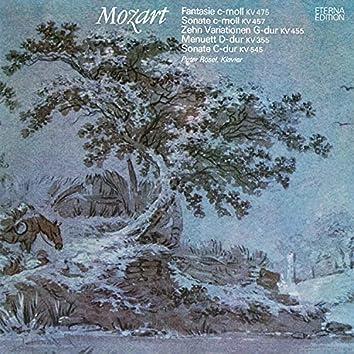 Mozart: Fantasie C-Moll, K. 475 / Klaviersonate No. 14 / Zehn Variationen, K. 455 / Menuett D-Dur / Klaviersonate No. 16