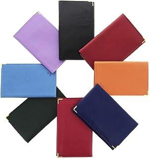 Karl Loven - Cartera para tarjetas y tarjetas de crédito RFID (piel, incluye tarjeta de crédito, tarjeta de identidad, seg...