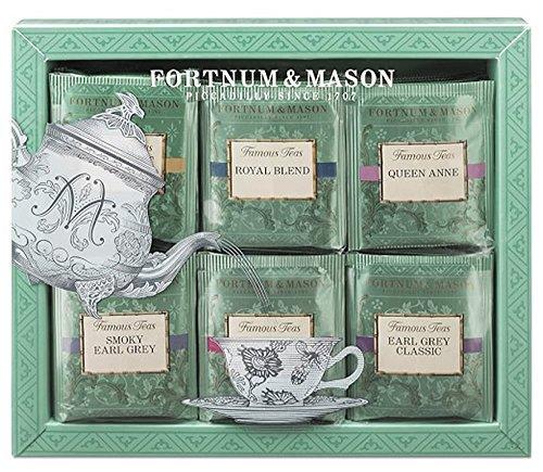 Fortnum & Mason Famous Teas tea bag set 60 pieces [Parallel import]