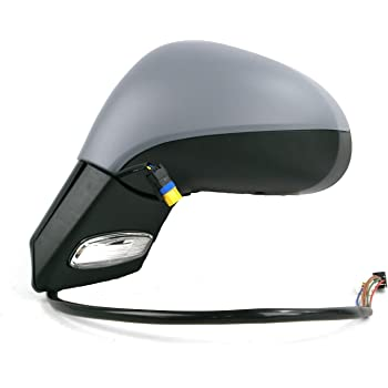 Peugeot 207 Hatchback 2006-2013 Heated Convex Wing Mirror Glass Passenger Side
