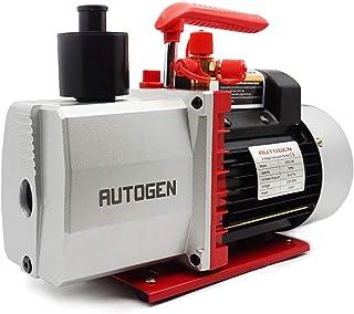 AUTOGEN 2-Stage Air Vacuum Pump 7CFM 0.3 Pa for HVAC/Auto AC Refrigerant Recharging, Degassing Wine, Milking Cow, Food Pro...