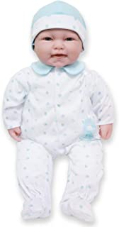 Caucasian 20-inch Large Soft Body Baby Doll   JC Toys - La Baby   Washable  Removable Blue Outfit w/ Hat and Pacifier and ...
