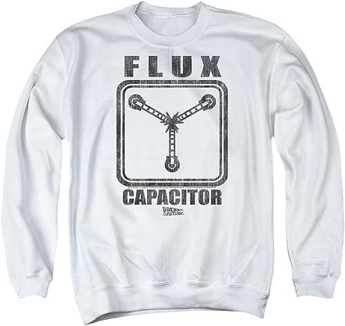 Back To The Future - - Chandail à condensateur Flux pour Homme