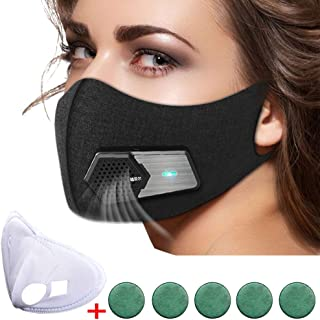 N95 Automatic Respirator Mask,Air Purifying Mask,Anti Pollution Mask For Pollen Allergy, Dust PM2.5, Running, Cycling and Outdoor Activities