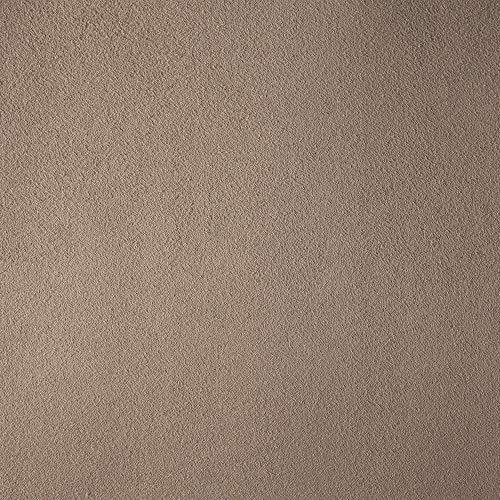Deshome Teknofibra – Tejido al metro de suave microfibra antimanchas, 140 cm de altura, para decoración de sofás, sillones, asientos, pufs (marrón pálido, 10 metros)