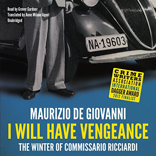 I Will Have Vengeance audiobook cover art
