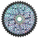 SolUptanisu Bike XD Freewheel 11 velocidades 9-46T Colorful Flywheel Bike Freewheel Cassette Gear Reemplazo Accesorio Rueda Libre para Bicicleta de montaña