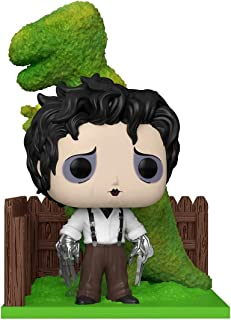 Funko POP Deluxe: Edward Scissorhands - Edward & Dino Hedge, multicolor