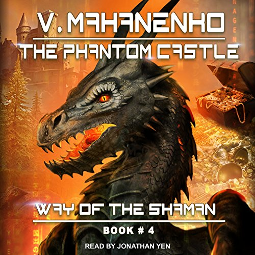 The Phantom Castle audiobook cover art