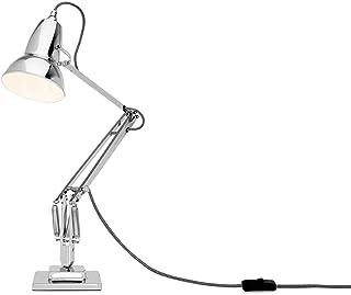 Anglepoise 30962 Duo1227 lampadaire 15 W E27 240 V Chrome avec Câble Blanc / Noir