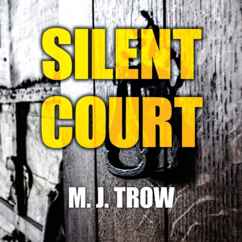 Silent Court audiobook cover art