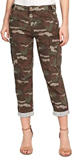 Womens Juniors Camouflage Utility Cargo Pants