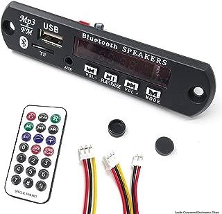 ZYZRYP Wireless MP3 WMA Decoder Board Remote Control Player 12V Bluetooth 5.0 USB FM AUX TF SD Card Module Car Radio MP3 Speaker (Color : 12v, Memory Size : Other)