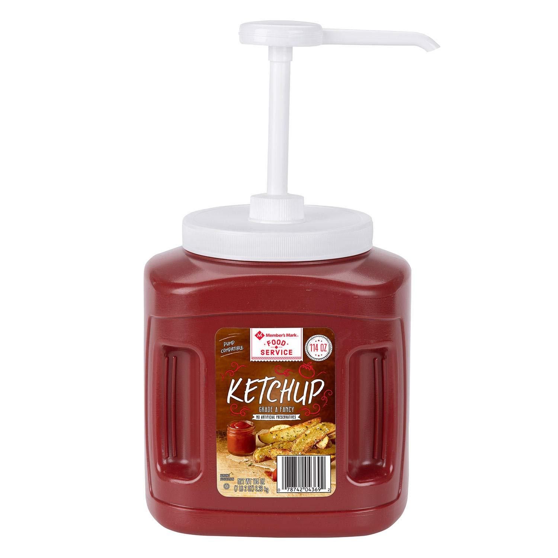 Daily Chef Fancy Ketchup - container Nashville-Davidson Mall 114 oz. San Antonio Mall 2pk