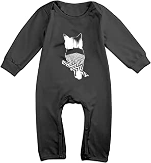 Cat from Mountains Suit 6-24 Months Baby Short Sleeve Climbing Clothes