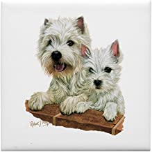CafePress - West Highland White Terrier - Tile Coaster, Drink Coaster, Small Trivet