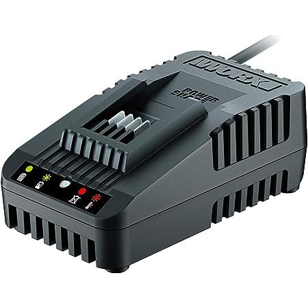 Fino a 6000/mAh Worx WA3867 Caricatore Ultra Rapido per Batterie 20V Powershare