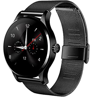 Bluetooth Smartwatch Fitness Activity Tracker Smart Watch, K88H Men and Women Bracelet Heart Rate Monitor Sedentary Reminder Sleep Calorie Monitor with Android iOS