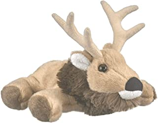 "Wildlife Artists Elk Plush Finger Puppet Toy, 7"" Elk Play Critters Stuffed Animal"