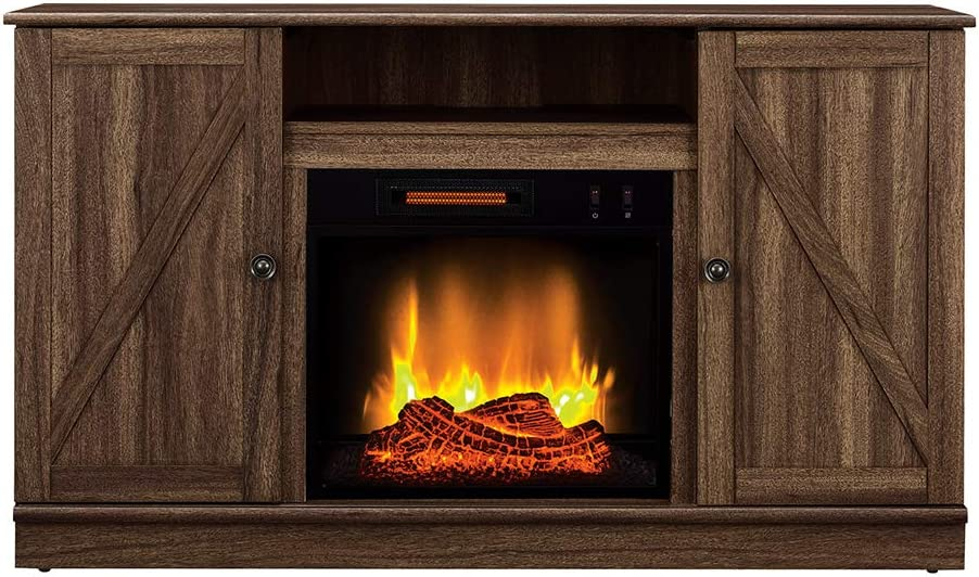 Alexander Electric Fireplace Media Entertainment Console - 販売 TV St お金を節約
