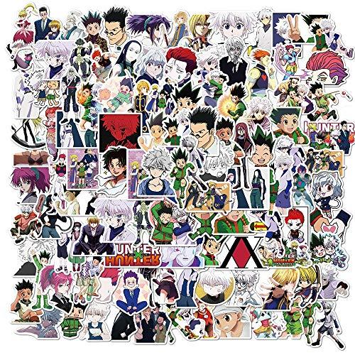 Dibujos animados Hunter Aventura Impermeable Etiqueta Diy Coche Portátil Pvc Mochila Scrapbook Maleta Etiqueta Engomada Juguete 100pcs
