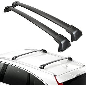 Amazon Com Ants Part Roof Rack For 2012 2016 Honda Crv Cr V Roof Side Rails Bars Silver Automotive