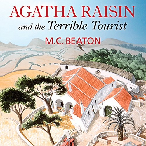 Agatha Raisin and the Terrible Tourist audiobook cover art