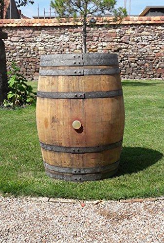 massives Holzfass 225 Liter, Weinfass, Fass, Barrique, Eichenfass, Stehtisch, Gartentisch, sehr dekorativ