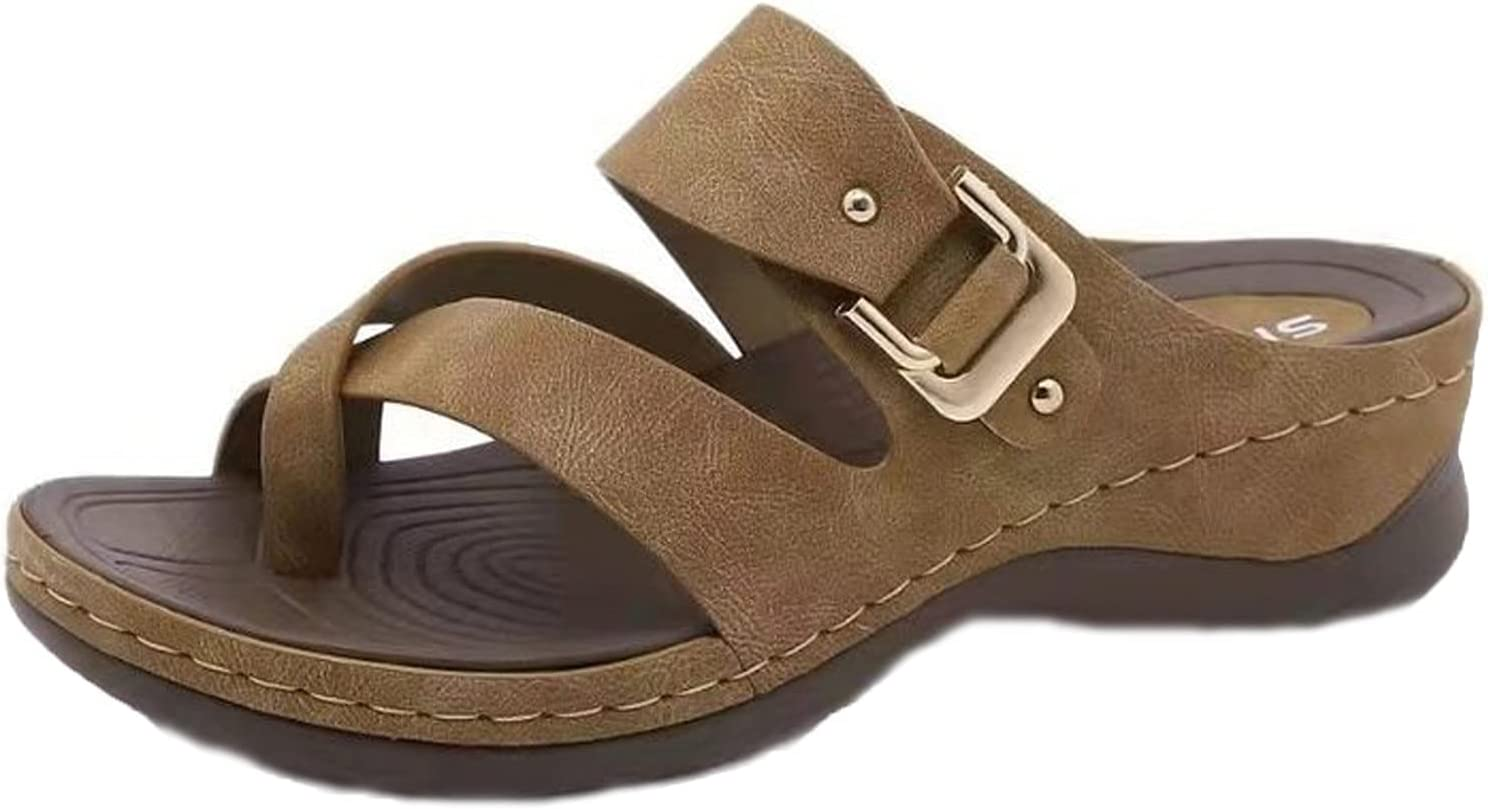 Yeslove Women New Sandals Max 71% OFF Fashion Non Slip Outd Limited price sale and Comfy Indoor