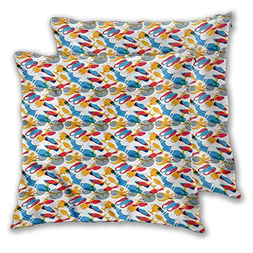 King Pillow case Bowling Throw Pillows for Bed Tournament Champion W23 xL23