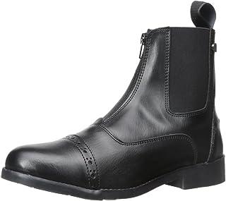 Equi-Star Ladies All Weather Zip Paddock Boots Black, 5.5 5.5 B(M) US Black