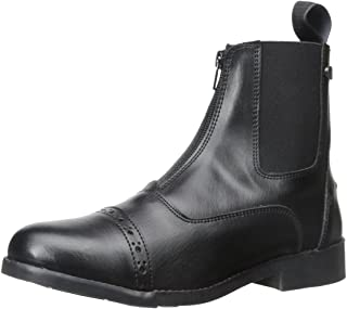 Ladies' Zip Paddock Boot (All Weather) (Ladies 8/Black) 8 Black