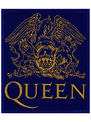 Queen Crest Patch azul