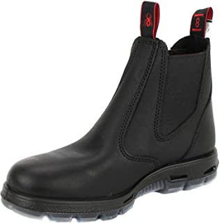 Redback UBBK Easy Escape Slip-On Soft Toe Black Redback Boot Size UK11 = US12