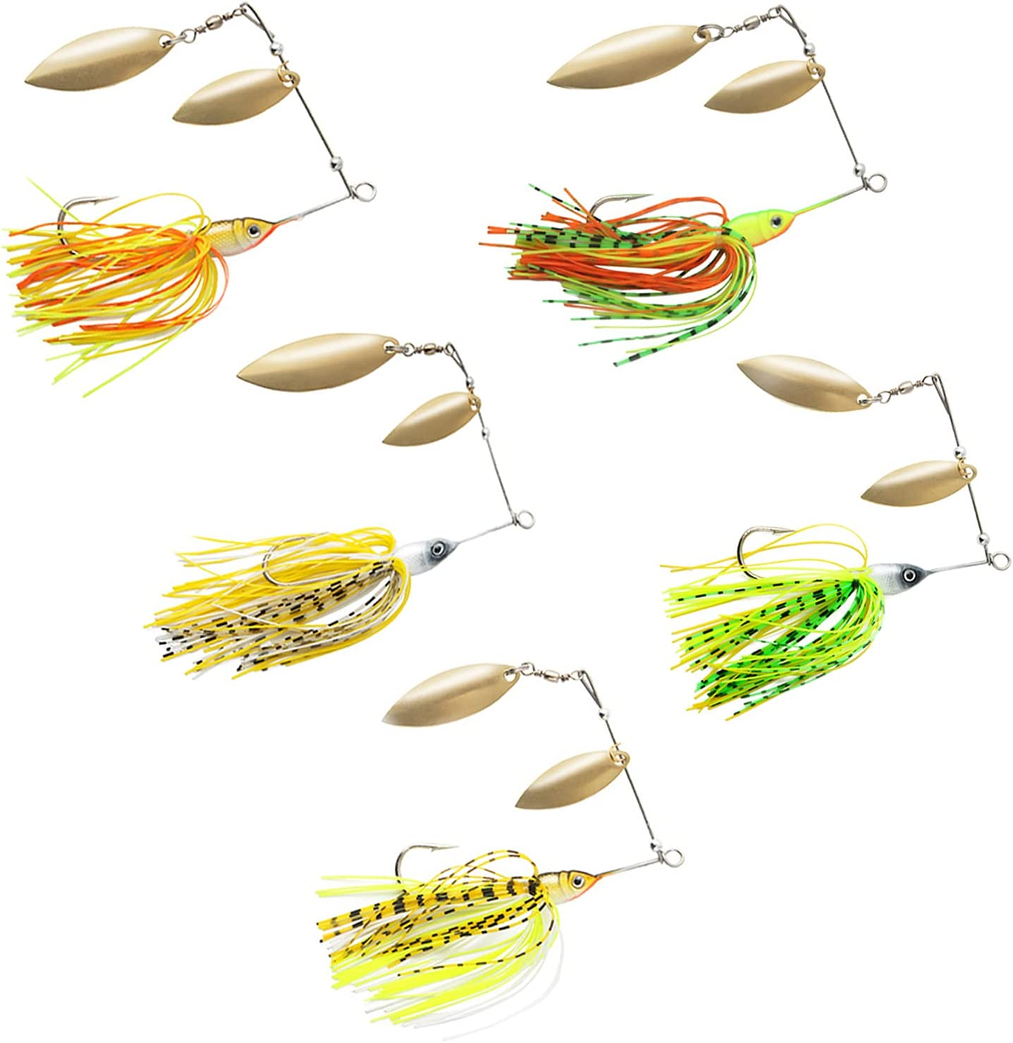 Spinner Baits for Bass Fishing Premium Trout Max 70% OFF Spinners San Diego Mall L
