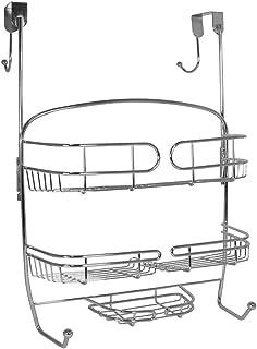 InterDesign Neo Over Door Shower Caddy, Chrome