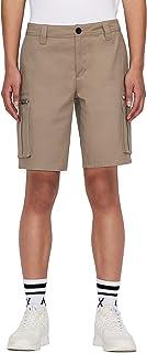 Armani Exchange Zip Pocket Stretch Cotton Bermuda Shorts Pantalones Cortos para Hombre