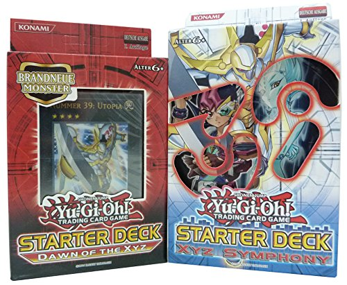 Yu-Gi-Oh! Starter Deck Set Dawn of the XYZ + XYZ Symphony