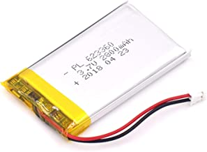 YDL 3.7V 2800mAh 623360 Lipo battery Rechargeable Lithium Polymer ion Battery Pack with JST Connector
