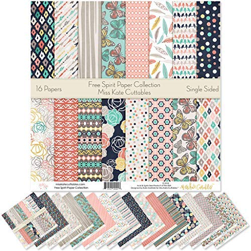 Pattern Paper Pack - Free Spirit - Scrapbook Premium Specialty Paper