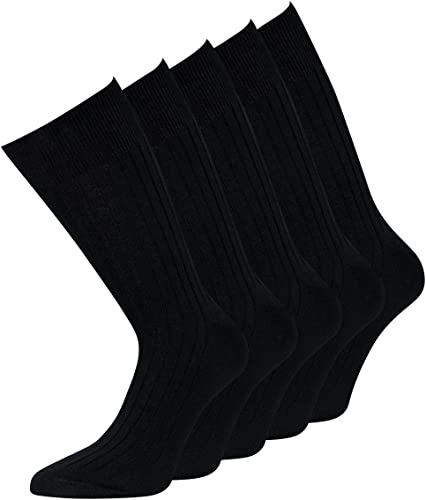 Anqier 6 Paar Socken Herren 43-46 39-42 35-38 47-50 Baumwolle Wandersocken Herren Classic Trekkingsocken Lange Warm Wintersocken mit weicher Polsterung Sportsocken Damen