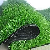 WENZHE-Artificiales sintético plástico Grass Hierba Artificiales Alfombra Césped Campo De Fútbol Alta Densidad Barato, 2 Metros De Ancho, Grueso...