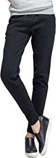 Womens Fleece Jogger Pants Running Workout Sweatpants with Pockets