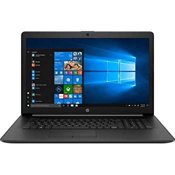 "2019 HP 17.3"" HD+ Flagship Home & Business Laptop, Intel Quad Core i5-8265U Processor Upto 3.9GHz, 8GB RAM, 256GB SSD, DVD-RW, WiFi, HDMI, GbE LAN, Bluetooth, Windows 10, Black"