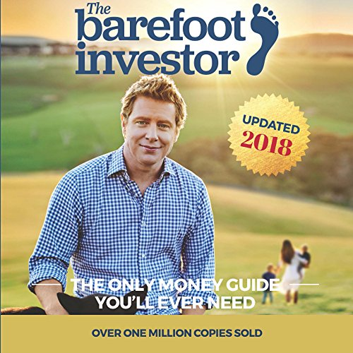 The barefoot investor audiobook scott pape audible the barefoot investor cover art malvernweather Images