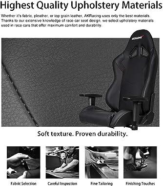 AKRacing AK-SX-BK Gaming Chair, Black