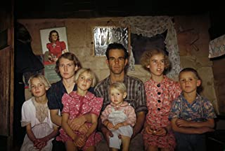 Homesteader Family 1940 Nhomesteader Jack Whinery And His Family Pie Town New Mexico Photograph By Russell Lee 1940 Poster...