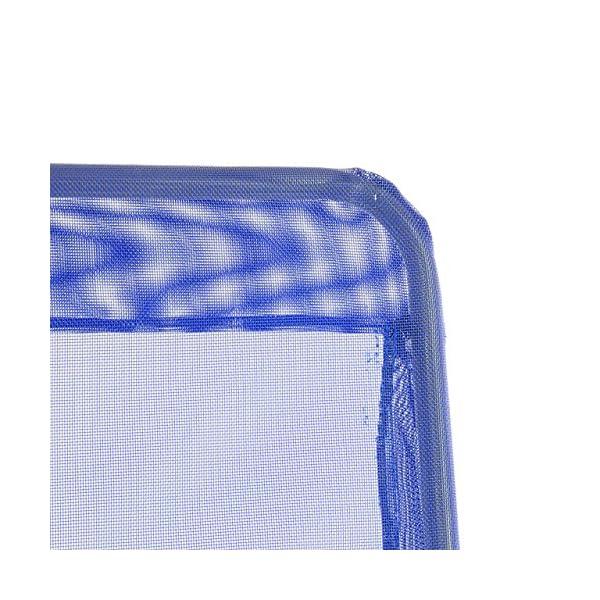 Nexos Gartenliege 2er Set Bäderliege 160 x 48,5 x 100 cm Textilene blau 5kg Armlehne Stahlrahmen Relaxliege klappbar…