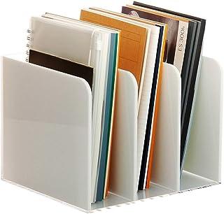Caja de Almacenamiento de Escritorio, Revista Oficina Estante Organizador Suministros Revista Rack de Almacenamiento - CD ...