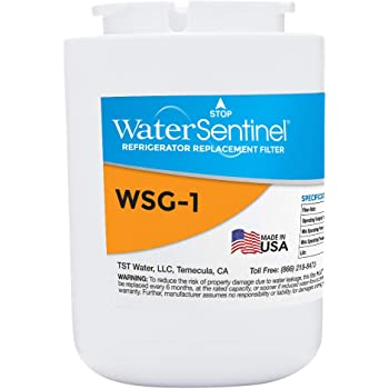 WaterSentinel WSG-1 Refrigerator Replacement Filter: Fits GE MWF Filters